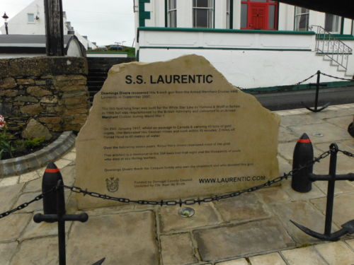 SS Laurentic Memorial